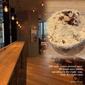 キュープラザ池袋のソルビンカフェで「きな粉餅ソルビンゴ」