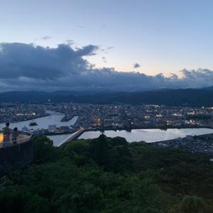 """2021.07.04 高知の""""青""""に逢いに行く~高知市・五台山展望台~"""