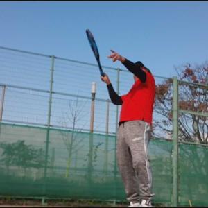 寒空テニス
