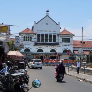 Bandung Trip 1050km (6) 最初の目的地はチルボン Cirebon。最後にgがつかないから、チルボーンって延ばしたほうがそれっぽいはず。