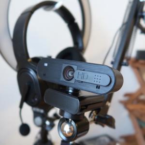 Web camera ウエブカメラを買い替え。もう、なにからなにまでElecomマンになってしまった。