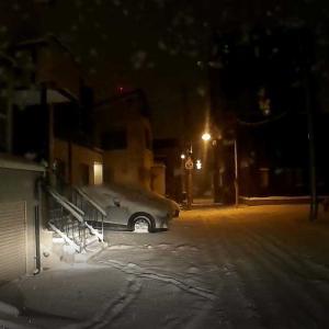 今季2回めの除雪です。