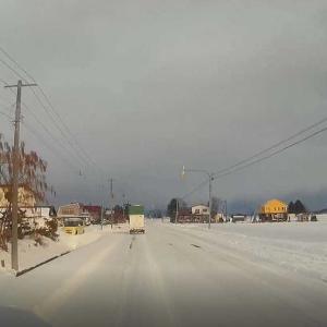 10センチの積雪です。