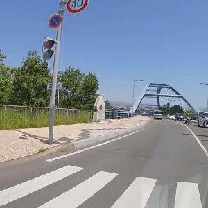 久しぶりに通った大正橋