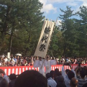 京都の「時代祭」に行ってきました。