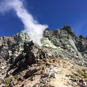 北アルプス焼岳へキャンツー(平湯温泉)