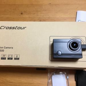 Crosstour CT8500アクションカメラデビューだ~