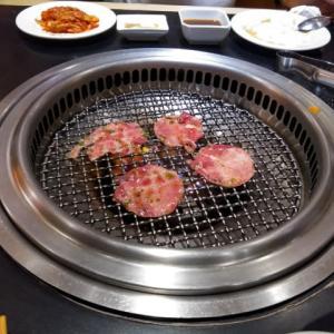 今日の夕食は焼肉