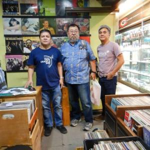 マカティシネマスクエア地下のレコード店