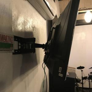 テレビをラウンジに設置 2019年12月26日 木曜日