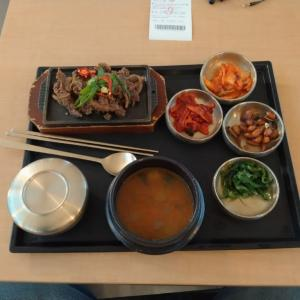 仁川国際空港での1回目の食事