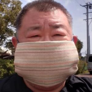 今日のオムツカバー(マスク)