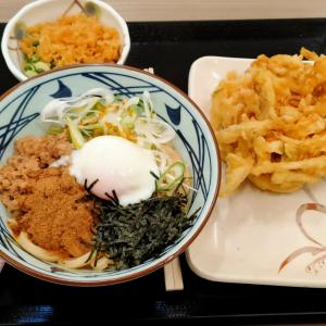 久しぶりの丸亀製麺