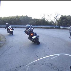 長尾峠で危ない対向バイクとBCN伊豆ツーリング