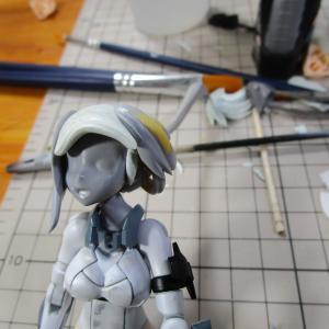 アオシマ VFG VF-25S メサイア 製作記6