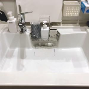 キッチン 水切りかごをなくす方法