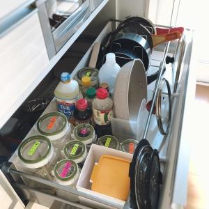 年末の大掃除 システムキッチンの引き出し編