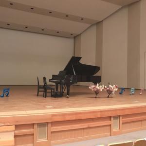 鳥取県米子市でピアノ発表会!1回の本番が大きな成長に!