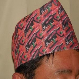 ネパール帽子「ダカ・トピ」
