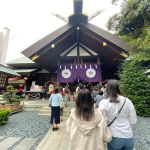 東京大神宮に行ってきました。