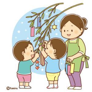 <5歳0か月>七夕の短冊、今年の願い事