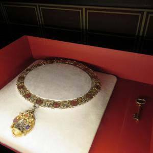 ベルギー旅7日目(17) ベルギー旅最後の観光 聖血礼拝堂の宝物庫へ(2)