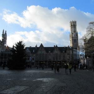 ベルギー旅7日目(7) ブルグ広場を逍遥(稀に月光蝶)