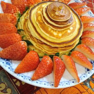 「家族でシェアするキッチン」と子どもの作るホットケーキ
