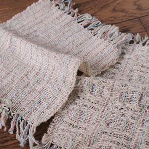 続・コットンとシルクでハンカチ織り