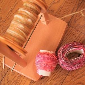 コースター用に追加の糸紡ぎ