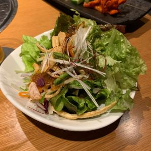 ぬしくしごとですが@焼肉トラジ、evaはミカンを食べる