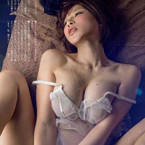 【I-cup】手島優(B95)ローションヌルテカ擬似セックス画像が超絶エチエチ鼻血wwwww