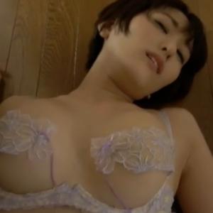【G-cup】朝比奈祐未(B89)人妻感がすごいエロい!ガンガン突かれる擬似セックス動画wwww