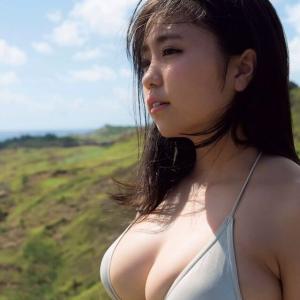 【F-cup】大原優乃(B89)超絶かわいい爆乳グラビアクイーンの厳選グラビアwwww