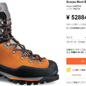 海外通販で登山靴を購入して損した!?【個人輸入失敗談】