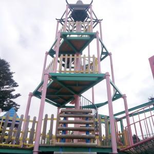 無料で大型遊具&駐車場がある岐阜県八百津の「人道の丘公園」が楽しい!
