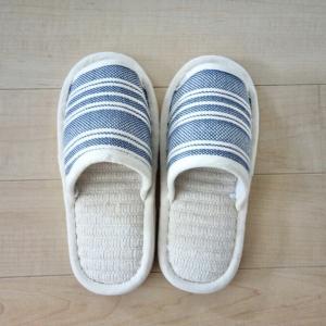 足が小さめの私の夏スリッパはイオンのインド綿スリッパで決まり