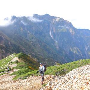 秋山シーズ到来!北アルプスの稜線へ (爺ヶ岳)  #登山  #山  #鹿島槍ヶ岳 #北アルプス #日本百名山