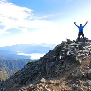 秋山シーズ到来!北アルプスの稜線へ (鹿島槍ヶ岳1)  #登山  #山  #鹿島槍ヶ岳 #北アルプス #日本百名山