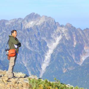 秋山シーズ到来!北アルプスの稜線へ (鹿島槍ヶ岳2)  #登山  #山  #鹿島槍ヶ岳 #北アルプス #日本百名山