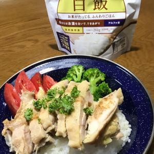 海南鶏飯カオマンガイシンガポールチキンライス