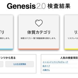 遺伝子検査結果「体質カテゴリ」篇