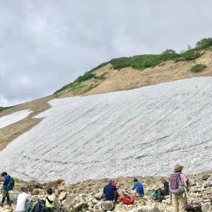 盛夏の唐松岳(2) #山の日 #登山 #北アルプス #山
