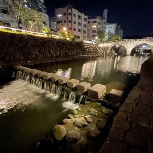 九州一周ひとり旅(26)「長崎夜散歩」