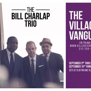 The Bill Charlap Trio @ the Village Vanguardのお知らせ
