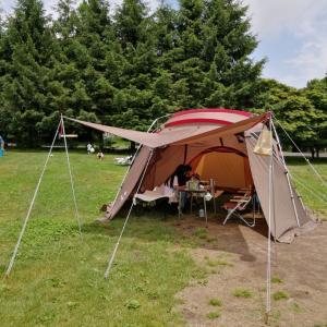待ちに待ったキャンプ♪