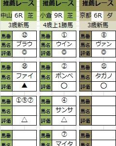午前の部!中山新馬戦4R大勝利(^▼^)v