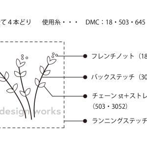 秋の野草サンプラーレシピ №1 はこべ(花の色が本当は白)