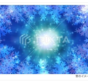 冬のイメージイラスト 素材/PIXTA