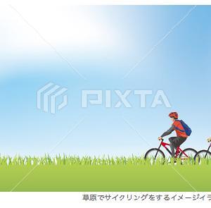 サイクリング イラスト素材/PIXTA